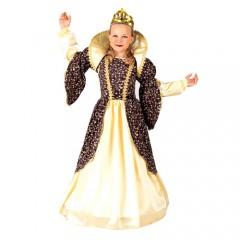 Βασίλισσα της Αγγλίας στολή για κορίτσια