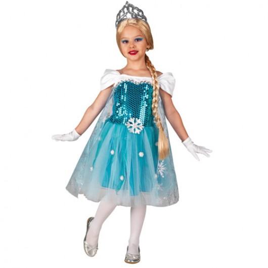 Βασίλισσα των πάγων στολή για κορίτσια