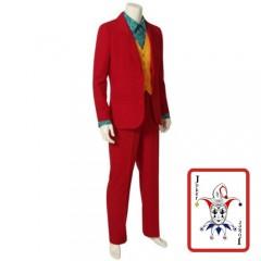 Red Suit Crime Prince στολή για αγόρια
