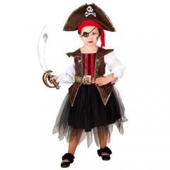 Μικρή Πειρατίνα στολή για κορίτσια