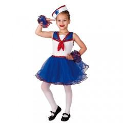 Ναυτάκι μπαλαρίνα στολή για κορίτσια