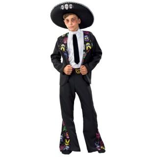 Μεξικανός Day Of The Dead στολή για αγόρια