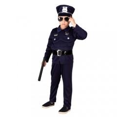 Μικρός Αστυνομικός μυώδης στολή για αγόρια
