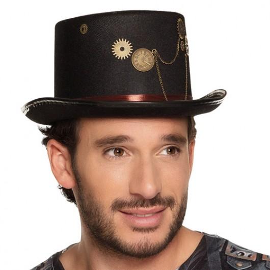 Καπέλο steampunk clock ημίψηλο