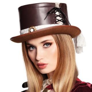 Καπέλο steampunk bride ημίψηλο