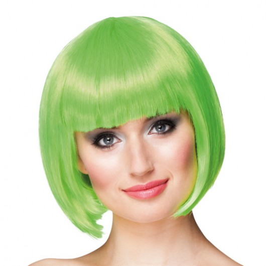 Περούκα Cabaret lime green