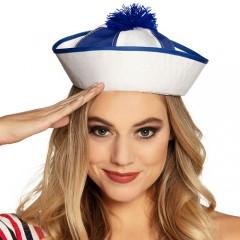 Καπέλο Ναύτη Μπερεδάκι Navy blue white