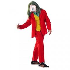 Red Suit Crime Prince στολή για ενήλικες