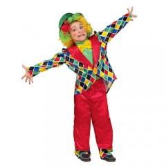 Κλοουνάκι αποκριάτικη στολή για παιδιά