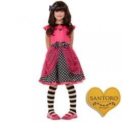 Santoro Gorjuss The Ladybird στολή για κορίτσια