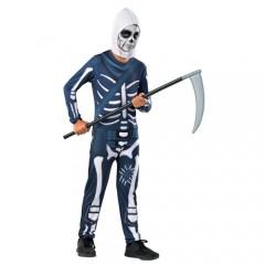 Σκελετός παίχτης video game στολή για αγόρια