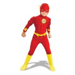 Flash στολή Σούπερ ήρωα για αγόρια