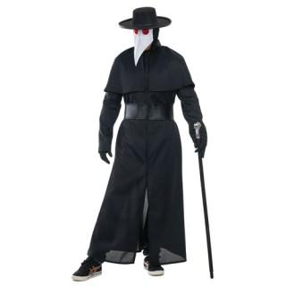 Plague Doctor αποκριάτικη στολή για ενήλικες