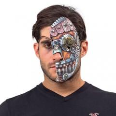 Μάσκα με γρανάζια μισή Steampunk
