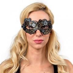 Μάσκα με γρανάζια ματιών Steampunk