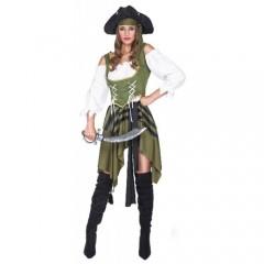 Swashbuckler αποκριάτικη στολή πειρατίνας