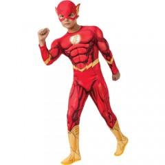 Flash deluxe στολή Σούπερ ήρωα για αγόρια