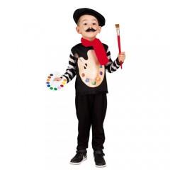 Μικρός Ζωγράφος αποκριάτικη στολή για παιδιά