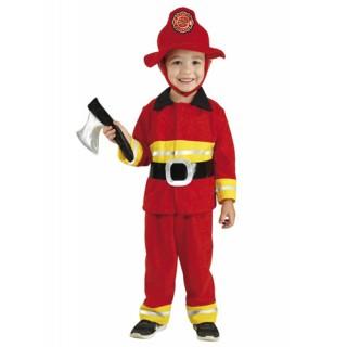Μικρός Πυροσβέστης στολή μπεμπέ για αγόρια