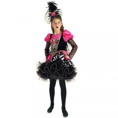 Χορεύτρια Καν Καν στολή για κορίτσια που δίνουν σόου