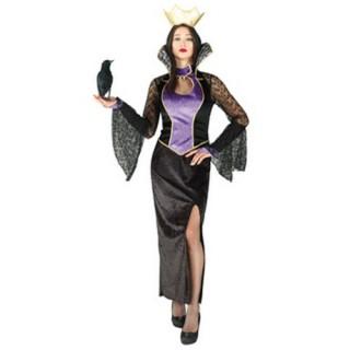Dark Queen αποκριάτικη στολή κακιάς μάγισσας ενηλίκων