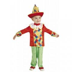 Μικρός Αρλεκίνος παιδική στολή για αγόρια