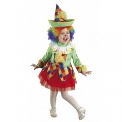 Μικρή Αρλεκίνα παιδική στολή για κορίτσια