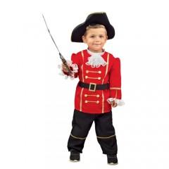 Μικρός πειρατής Captain Hook στολή μπεμπέ