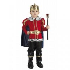 Βασιλιάς κόκκινη στολή για αγόρια
