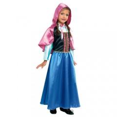 Πριγκίπισσα Άννα των Πάγων στολή για κορίτσια