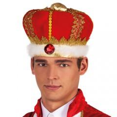 Καπέλο Βασιλιά Κόκκινο