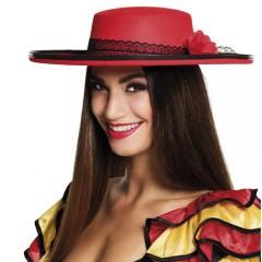 Καπέλο κόκκινο Seniorita