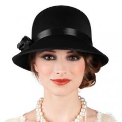 Καπέλο Τσάρλεστον lady black