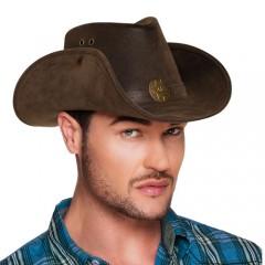 Καπέλο Καουμπόι Nevada leather look