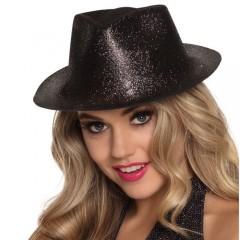 Καπέλο καβουράκι Sparkle μαύρο