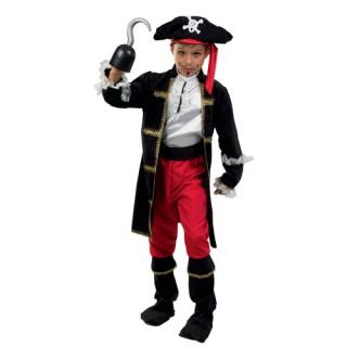 Πειρατής Κάπτεν Χουκ στολή για αγόρια
