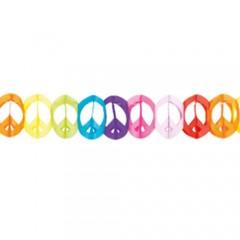 Γιρλάντα αποκριάτικη σήμα της ειρήνης 4m