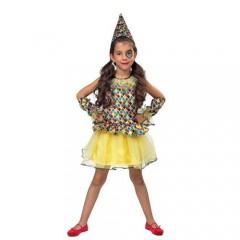 Αρλεκίνα παιδική στολή για κορίτσια