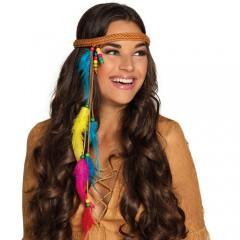 Κεφαλόδεσμος Hippie με φτερά