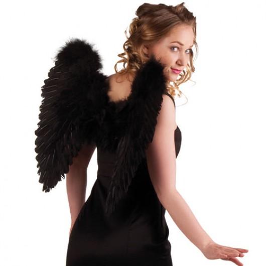 Φτερά Αγγέλου Μαύρα 50x50cm