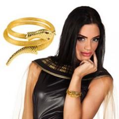 Μπρασελέ Κλεοπάτρας χρυσό φίδι