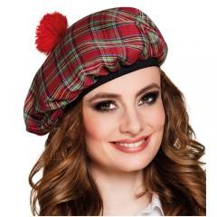 Καπέλο σκοτσέζικος μπερές Mrs Tartan