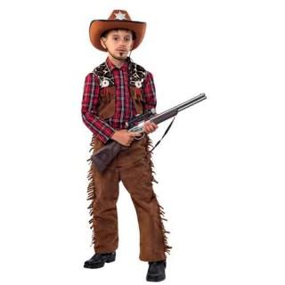 Καουμπόη κλασική στολή  far west για αγόρια
