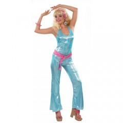 Disco 80s ολόσωμη στολή για ενήλικες