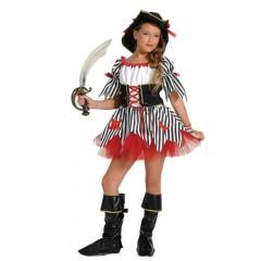 Κουρσάρισσα στολή πειρατίνας για κορίτσια
