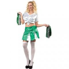 Μαζορέτα ομάδας Πράσινη στολή ενηλίκων