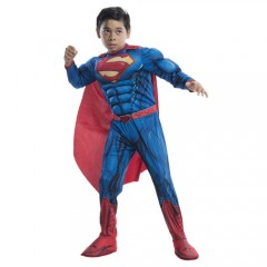 Superman στολή deluxe Σούπερ ήρωα για αγόρια