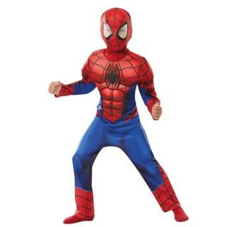 Spiderman στολή deluxe Σούπερ ήρωα για αγόρια