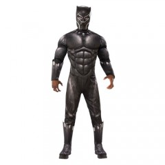 Black Panther Deluxe στολή Σούπερ ήρωα για αγόρια