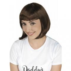 Περούκα Σεσίλια καστανή 25cm